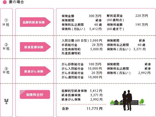 夫婦共働き(子供なし②)夫:35歳 年収500万円:妻30歳 年収400万円