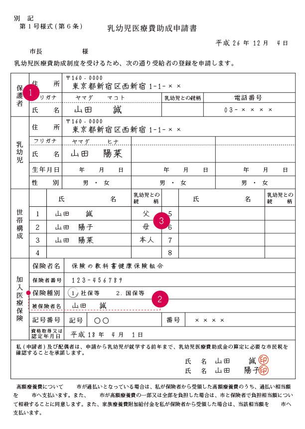 乳幼児医療費助成制度-図